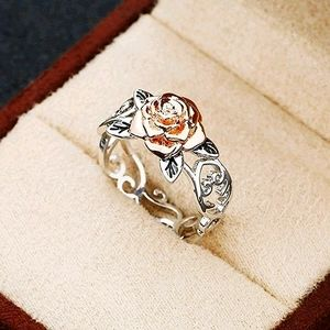 NWOT Two-colour Sterling Silver Ring